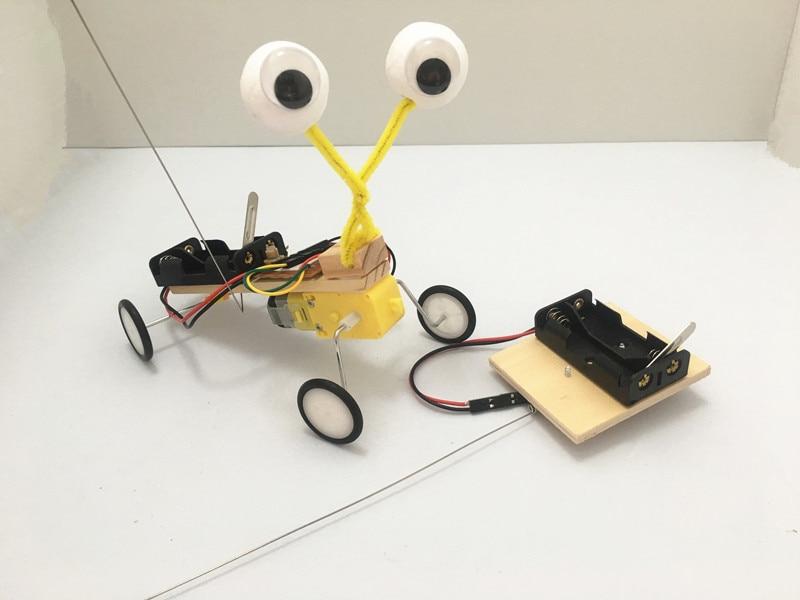 DIY Electric Robot Reptile Model Experiment Toys Assemble Kits Children Kid Toy