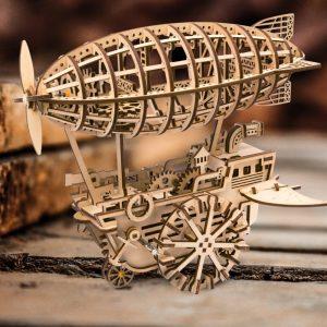 DIY Wooden Amazing Airship Gear Drive