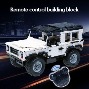 Cada 533Pcs Defender Remote Control Car Building Blocks For Legoingly Technic RC Car Model SUV City