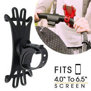 Baby Stroller Accessories Mobile Phone Holder Rack Universal 360 Rotatable Baby Pram Cart Phone Holder for